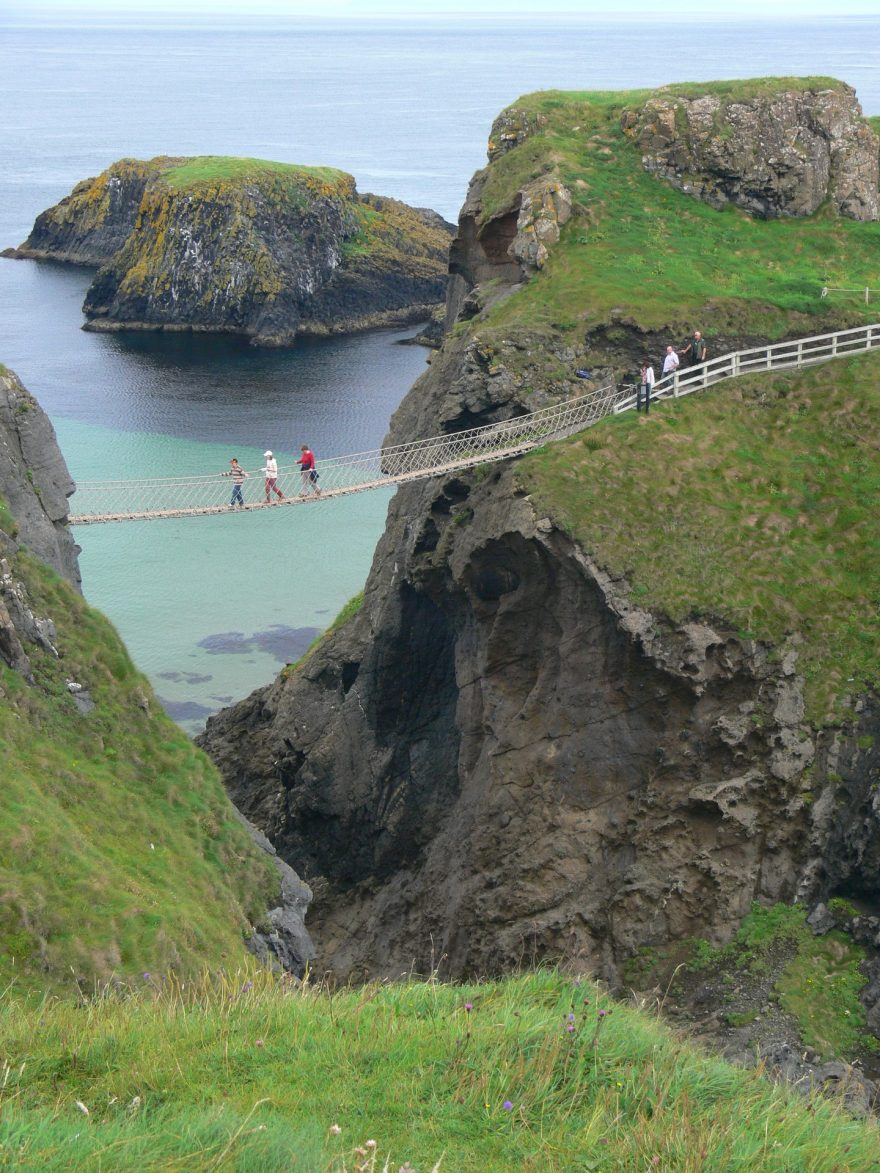 Lanový most Carrick-A-Rede, Irsko