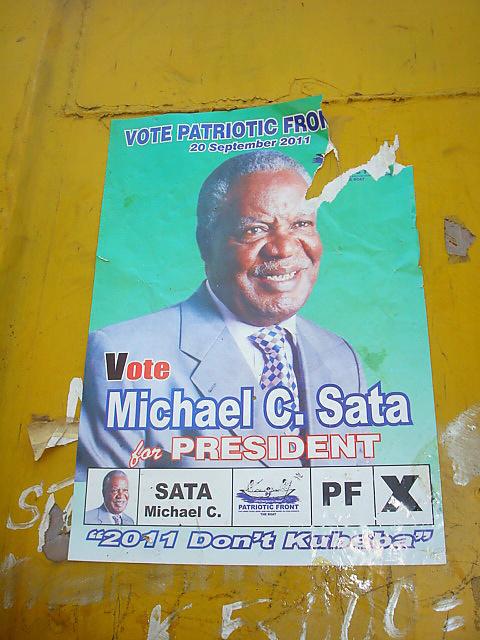 Prezidentské volby, Zambie