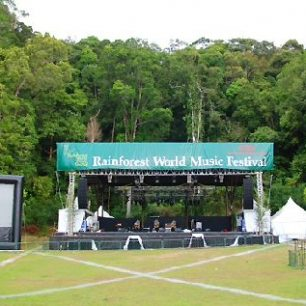 Malajsie, Borneo, Rainforest Music Festival