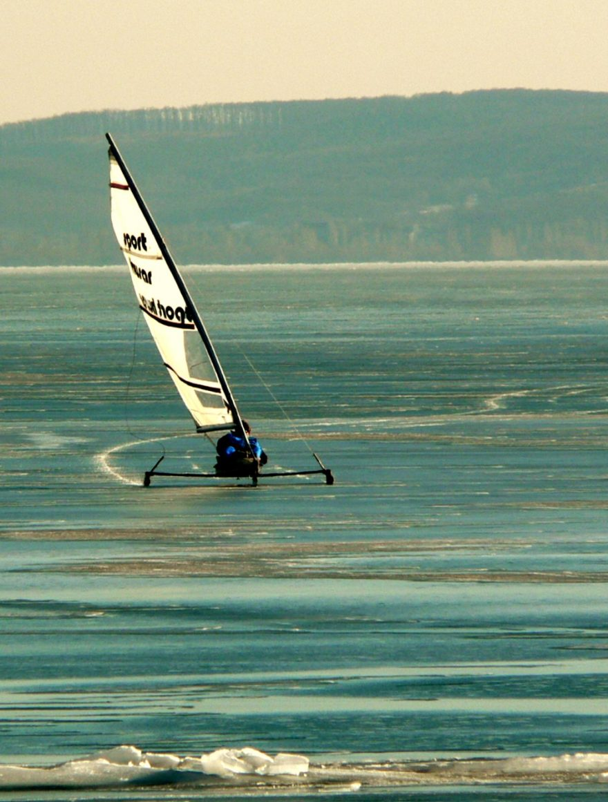 Icesailing