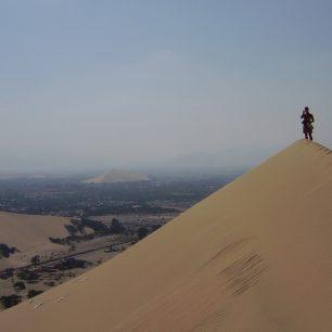 Poušť v Peru