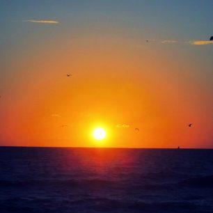 Východ slunce v Miami