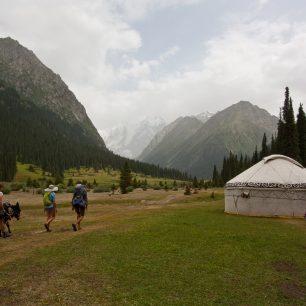 Putování s oslíkem, Kyrgyzstán