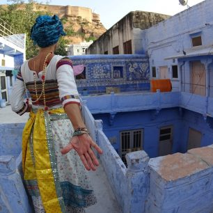 Jodhpur, Blue City, Indie