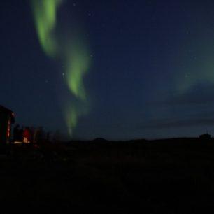 Polární záře Hveravellir, Island