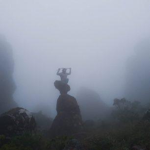 Stolová hora v mlze, Bolívie