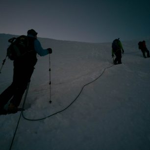 Výstup na Pisco (5700 metrů), Cordillera Blanca, Peru
