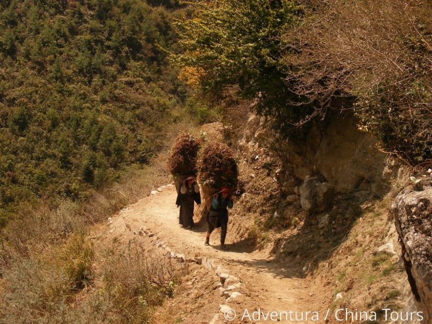 Pod Manáslu, Nepál